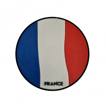 "Patch 3D PVC ""FRANCE"" 8cm"