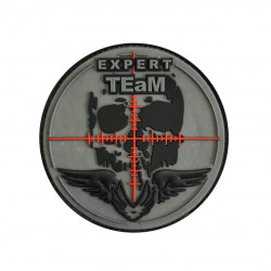 "Patch 3D PVC ""Expert Team"" 8cm"