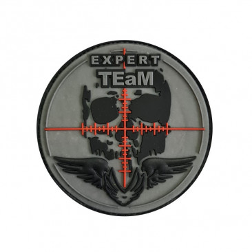 "Patch 3D PVC ""Expert Team"" 8cm"