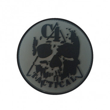 "Patch 3D PVC ""C4 TACTICAL"" Basse Visibilité 8cm"