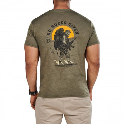 T-shirt No Rucks Given 2021 Q1 223 MILITARY GREEN HEATLER