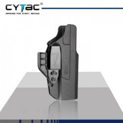 Holster Inside Ambidextre Griffe IWB Glock 17/22/31 Noir