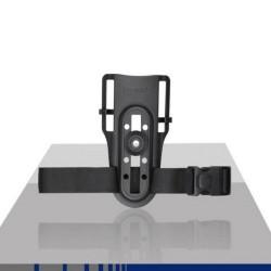 Porte Holster Bas 360° Polymère Noir