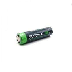 Batterie Rechargeable 18650 Li-Ion 3.7V 2600 mAh