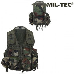 Gilet Tactical CCE Camo (9 poches)