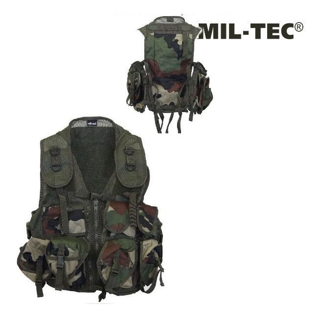Gilet Tactical CCE Camo (9 poches)