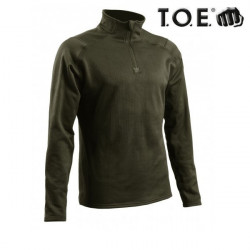 Sweat zippé Thermo Performer niveau 3 Vert Od.