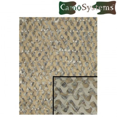 Filet de camouflage militaire 3x3m Désert