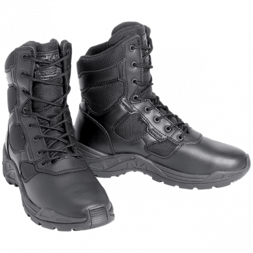 CHAUSSURE D'INTERVENTION BOOTS CUIR & TOILE