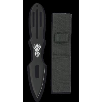 Couteau à lancer Albainox avec étui en nylon