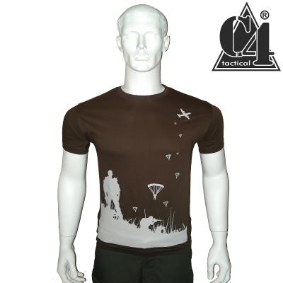 T-shirt PARA débarquement Vert Army