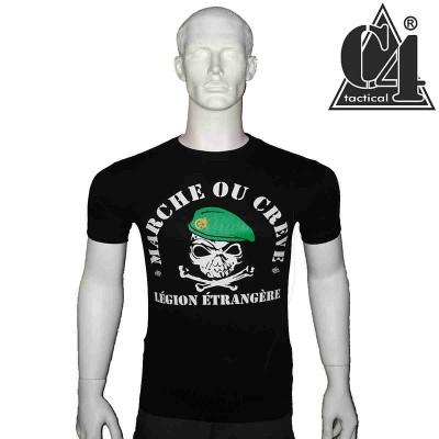 T-Shirt Marche ou Crève Légion Étrangère.