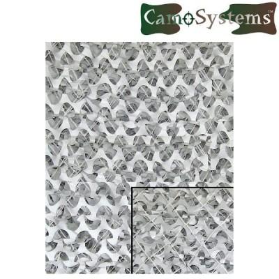 Filet de camouflage militaire 3x3m Blanc