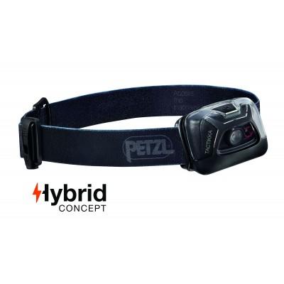 Lampe frontale Hybrid éclairage 2 couleurs Tactikka - 300 Lumens Noir