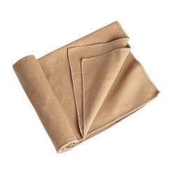 Serviette microfibre Camp 40x80 cm Tan