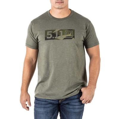 T-shirt Razzle Dazzle Legacy Vert Military.