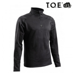 Sweat zippé Thermo Performer niveau 3 Noir.