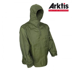 Veste coupe-vent Stowaway Olive.