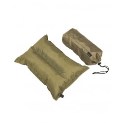 Oreiller gonflable 38x22x8,5cm Olive.