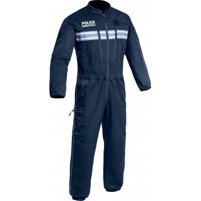 Combinaison antistatique Swat Police Municipale P.M. ONE Bleu Marine Foncé