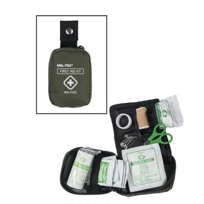 Kit Médical de Premier Secours Mini Pack Olive.