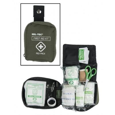 Kit Médical de Premier Secours Midi Pack Olive.