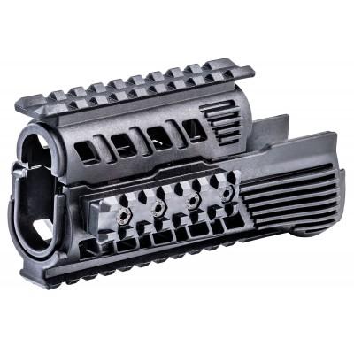 Garde-main picatinny 4 rails polymère AK47 / AK74
