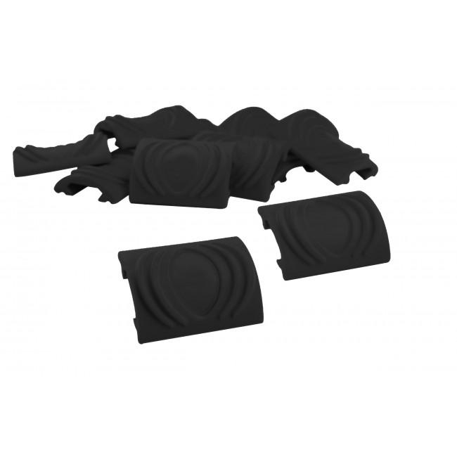 Protection rail picatinny Noir