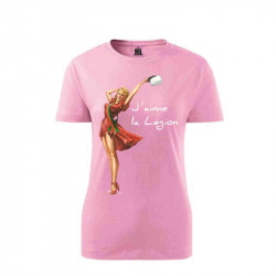 T-Shirt Miss Kepi Blanc