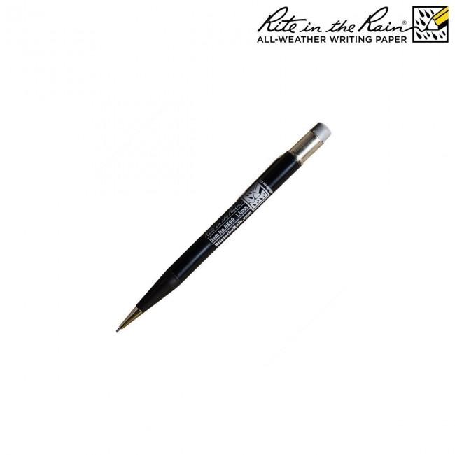 Crayon Mécanique Tout Temps avec gomme Noir