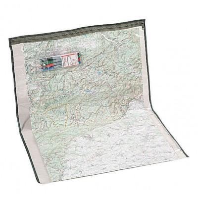 Porte-carte transparent État Major 53X63cm