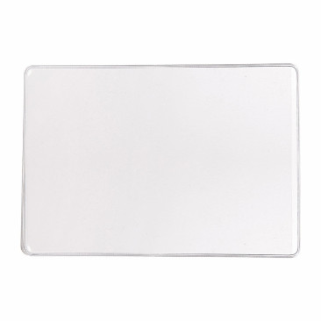 Etui identité PVC Cristal 1 volet 9x13xm
