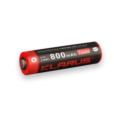 Batterie rechargeable 14500 3.7v 800mAh 5.2cm*1.9cm