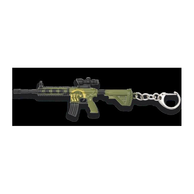 Porte Clé Fusil M4 Camo 12.3cm