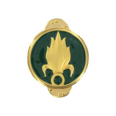 Insignes de collet Légion Étrangère x2 Or