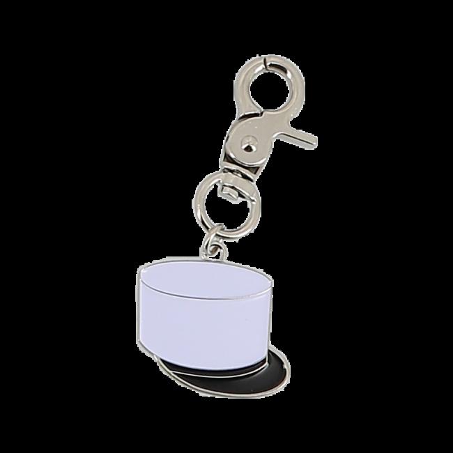 Porte Clé métal Képi Blanc Légion