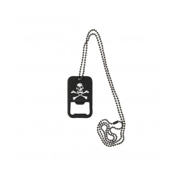 DOG TAG OUVRE-BOUTEILLE SKULL