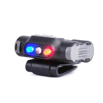 Lampe a clips 3 modes, Blanc/ Rouge/ Bleu