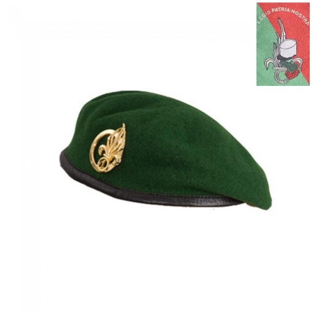 Béret Militaire Légio Patria Nostra Vert
