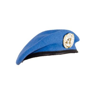 Béret Militaire ONU Bleu Clair turquoise
