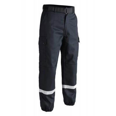 Pantalon F2 bandes rétro-réfléchissantes Bleu Marine